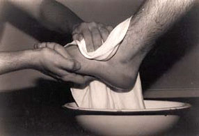 Serve: Foot Washing