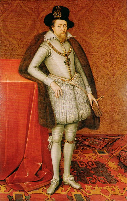 King James VI or Scottland, Ireland and King Jmaes I of England